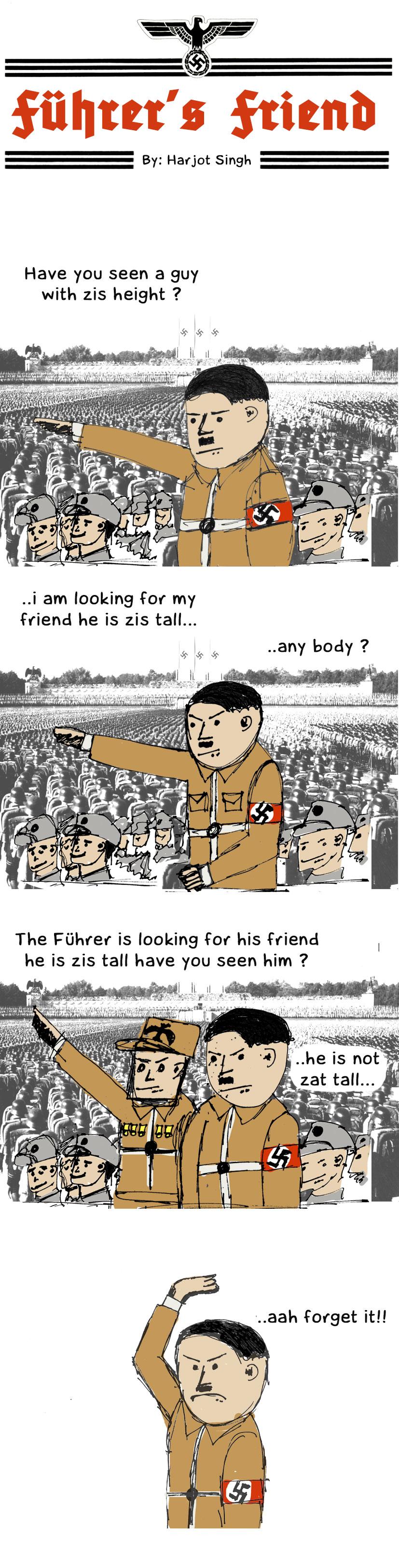 Fuhrer's friend
