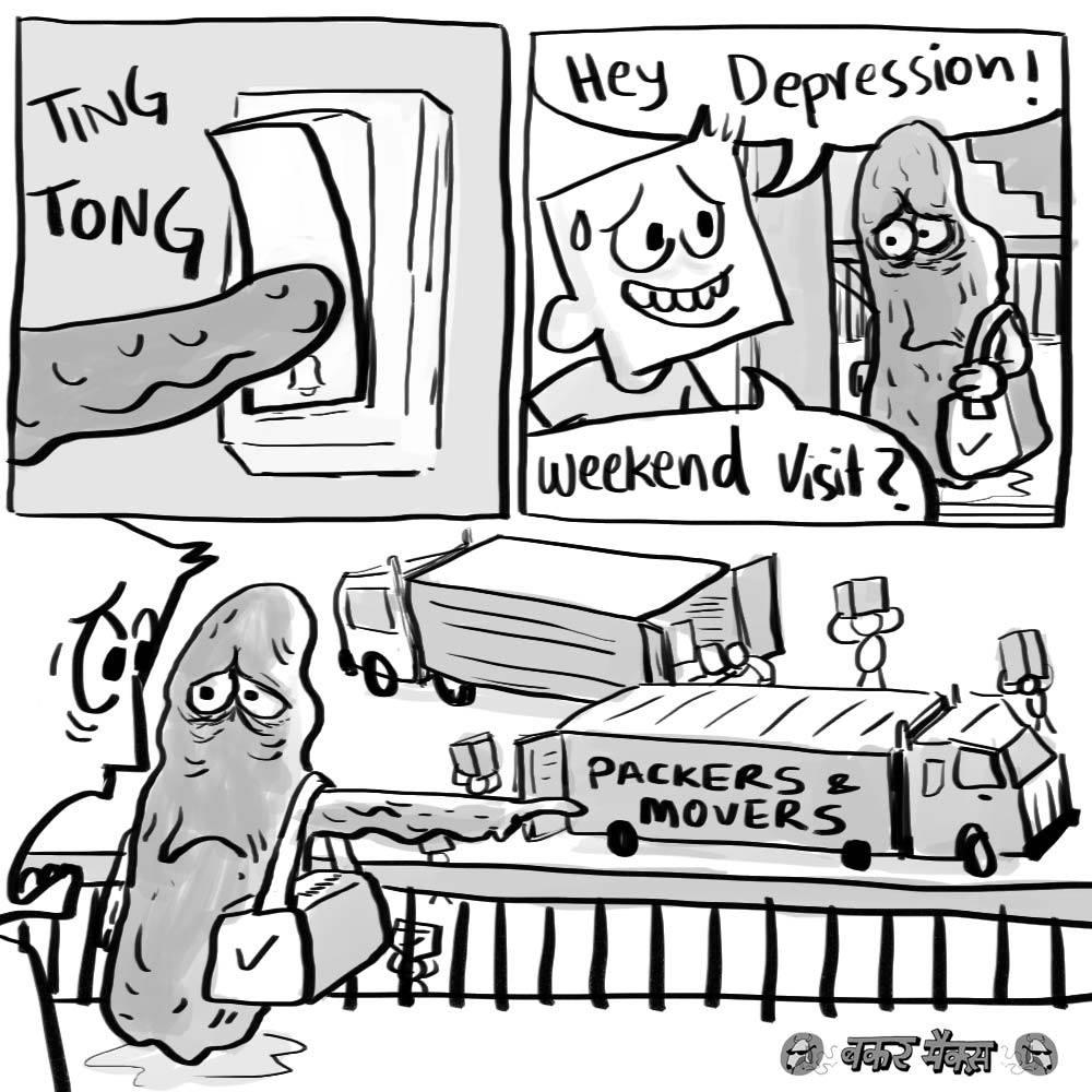 Shifting depression