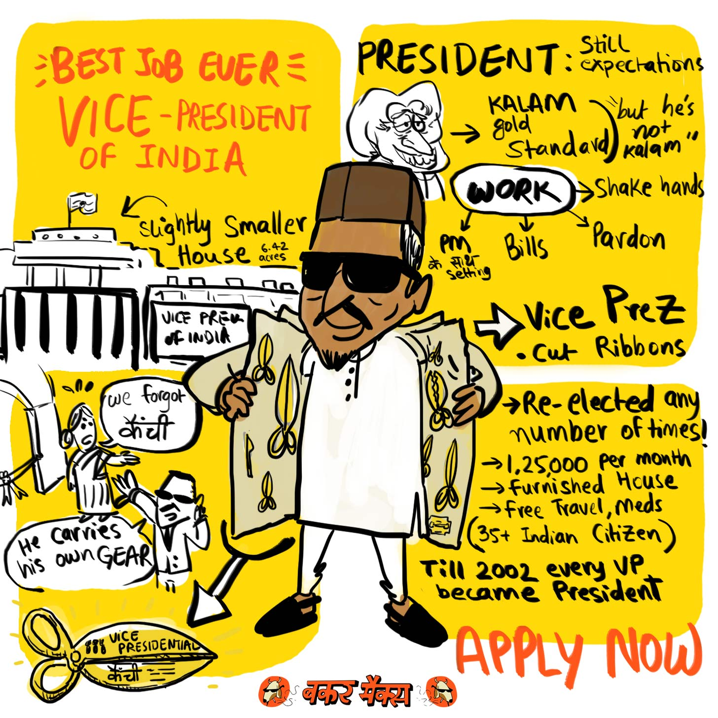 Best Job Ever – Vice President of India